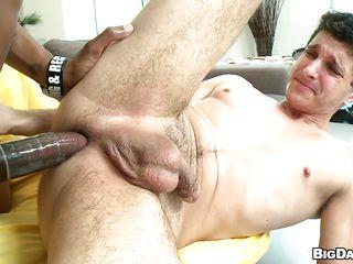Межрассовое гей порно