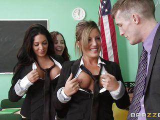 порно учительница и студент